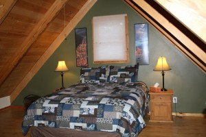 Upstairs bed 2